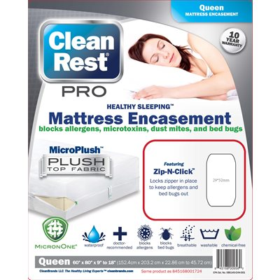 CleanRest Pro Mattress Encasements (Retail Packaging)