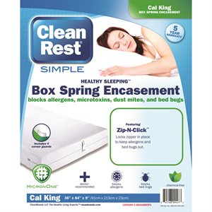 CleanRest Simple Box Spring Encasements