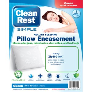 CleanRest Simple Pillow Encasements